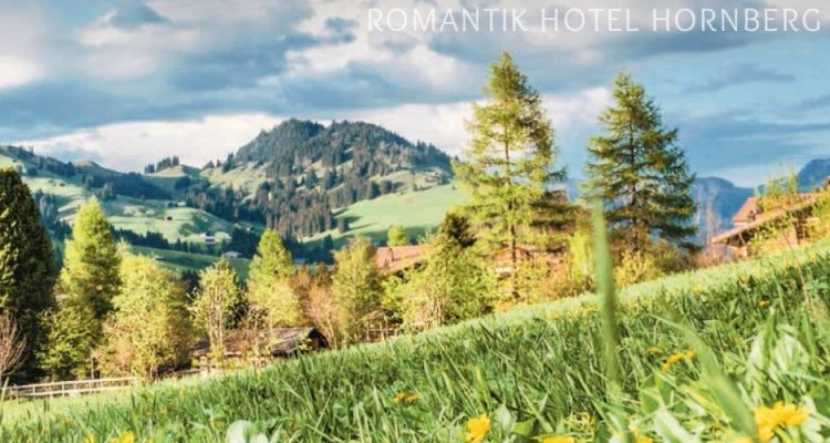 Neu: Der Romantik Hotel Hornberg-Hotelprospekt 2017...