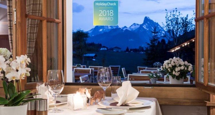 Platz 6 der familiärsten Skihotels der Alpen - vielen Dank dafür!