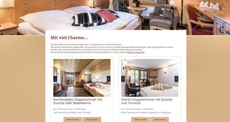 Hotelzimmer-Darstellung und weitere Inhalte überarbeitet