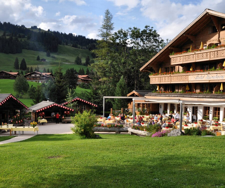 Romantik Hotel Hornberg Saanenmoser Gstaad Golf Ski Tennis Wandern