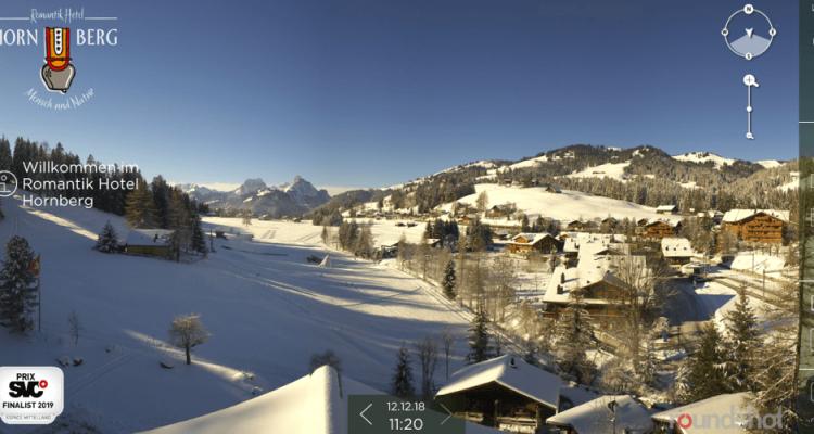 Das Romantik Hotel Hornberg im 360° Panorama