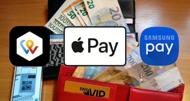 Apple Pay - Samsung Pay - Twint - modern bezahlen mit dem Smartphone