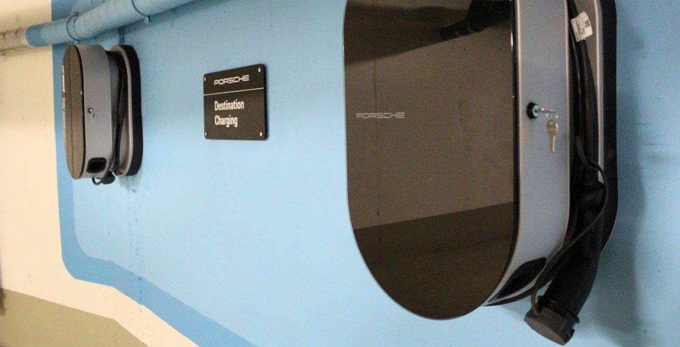 Porsche Charging Service - Elektro-Ladestationen im Hornberg erweitert