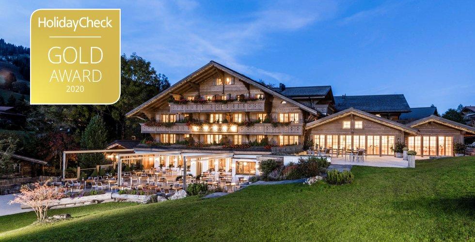 Der erste HolidayCheck Gold Award und Platz 2 bei den beliebtesten Hotels in der Schweiz